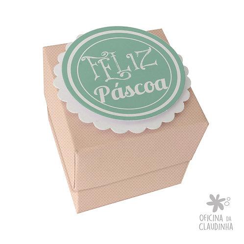 Caixa de Páscoa para 1 Ferrero Rocher - Delicatesse Rosa