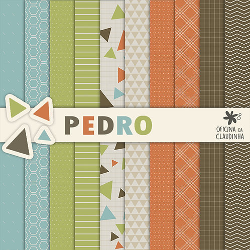 Pedro | Papéis impressos