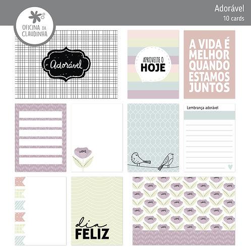 Adorável | Cards impressos