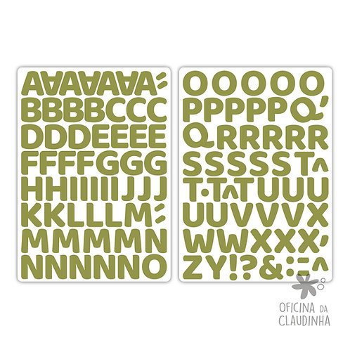 Oka verde | Alfabeto digital
