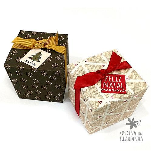 Caixa cubo 6,5 x 6,5 x 6,5 cm