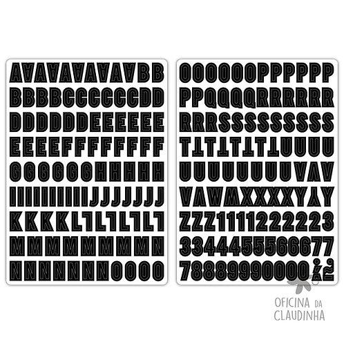 Belde Preto | Alfabeto digital