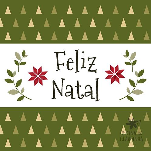 Card Feliz Natal 03 - Tradicional
