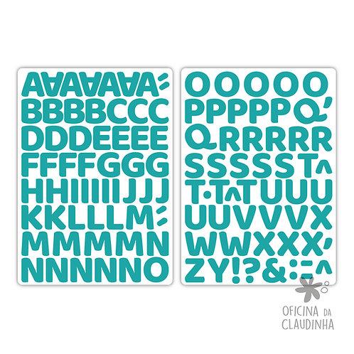 Oka turquesa | Alfabeto digital