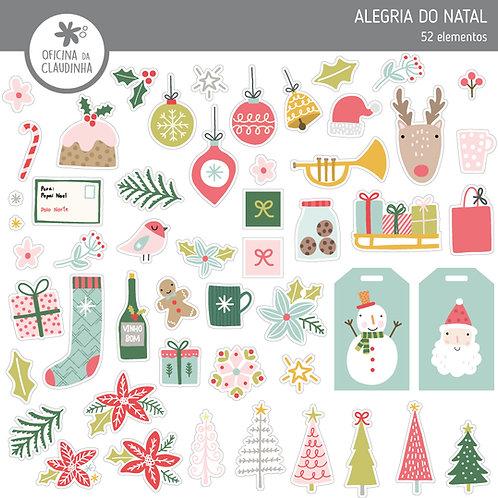 Alegria do Natal | Recortes impressos