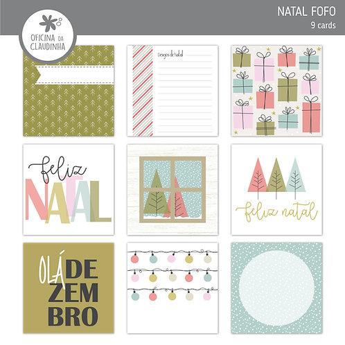 Natal fofo | Cards impresso