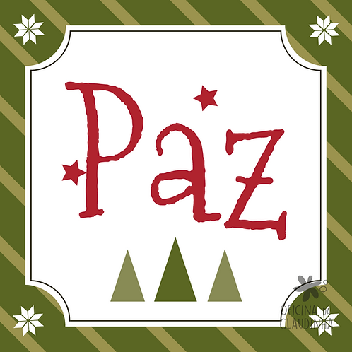 Card Natal 02 - Paz - Tradicional