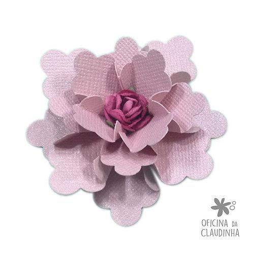 Flor quadrado escalope