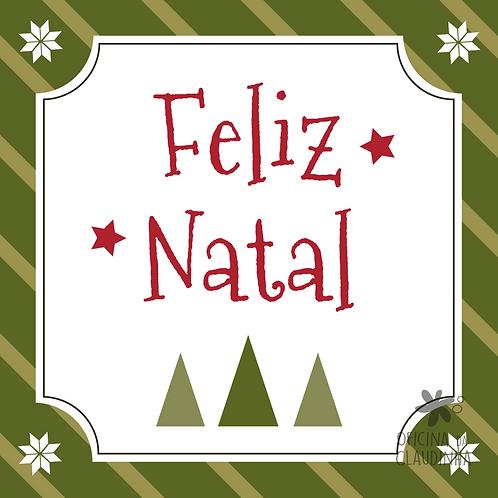 Card Feliz Natal 01 - Tradicional