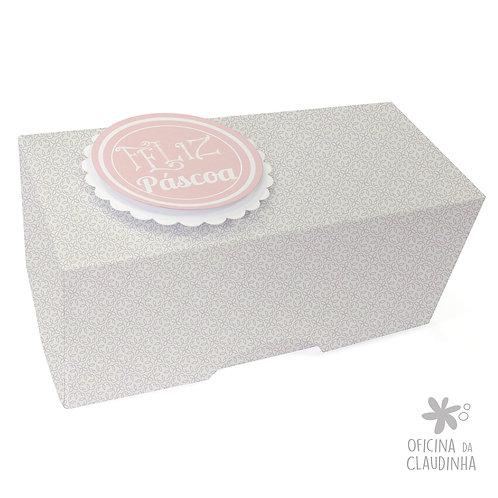 Caixa de Páscoa para 1 Bombom - Delicatesse Lilas