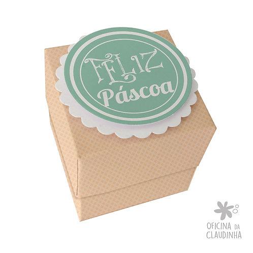 Caixa de Páscoa para 1 Ferrero Rocher - Delicatesse Laranja