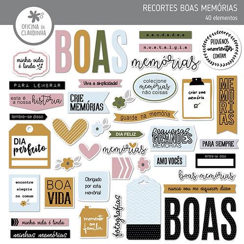 Boas memórias | Recortes impressos