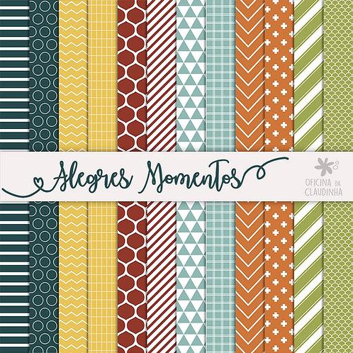 Alegres Momentos | Papéis digitais