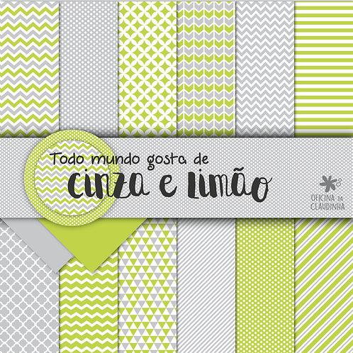 Todo mundo gosta de cinza e limão | Papéis impressos