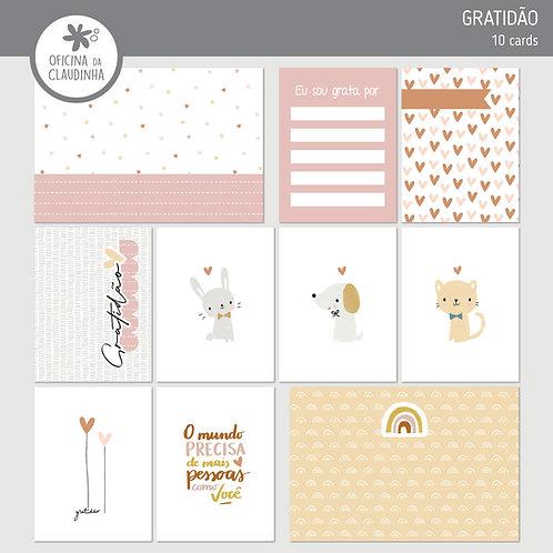 Gratidão | Cards impressos