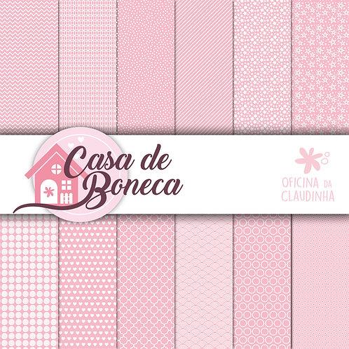 Casa de Boneca | Papéis digitais