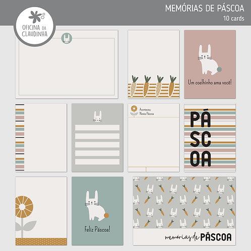 Memórias de Páscoa | Cards impressos