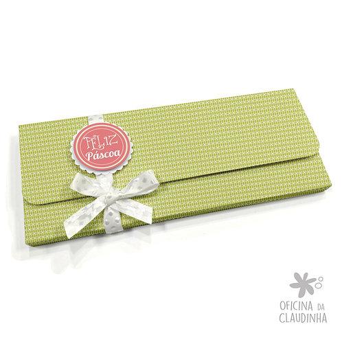 Caixa para 1 barra de chocolate - VB Verde