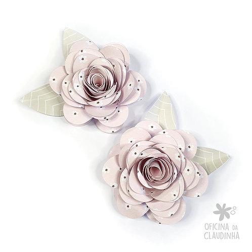 Flor / rosa espiral 1