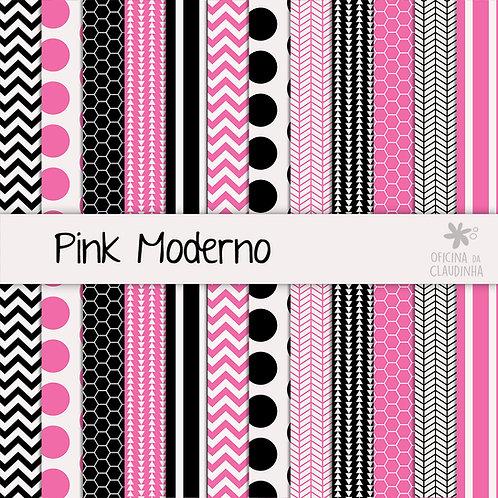 Pink Moderno | Papéis digitais