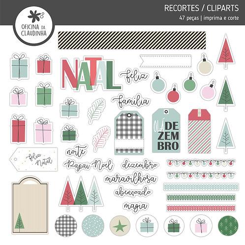 Natal Fofo Tradicional | Recortes digitais