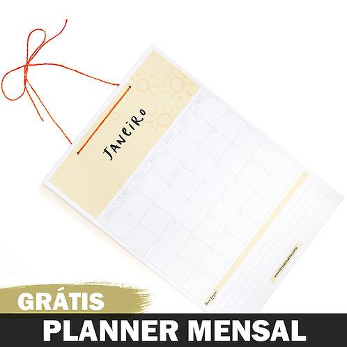 Calendário/Planner Mensal - 2020