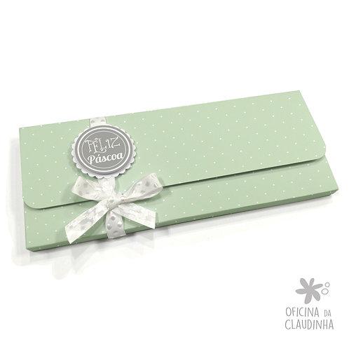 Caixa par 1 barra de chocolate - Delicatesse Verde