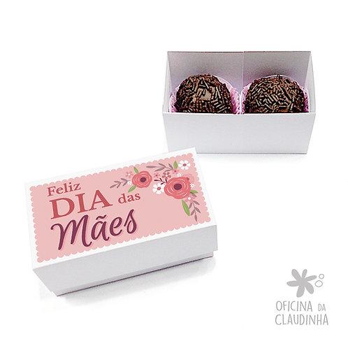 Caixa 2 Doces Mães - Rosa
