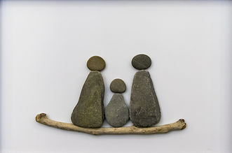 Portrait of a happy family. Conceptual s