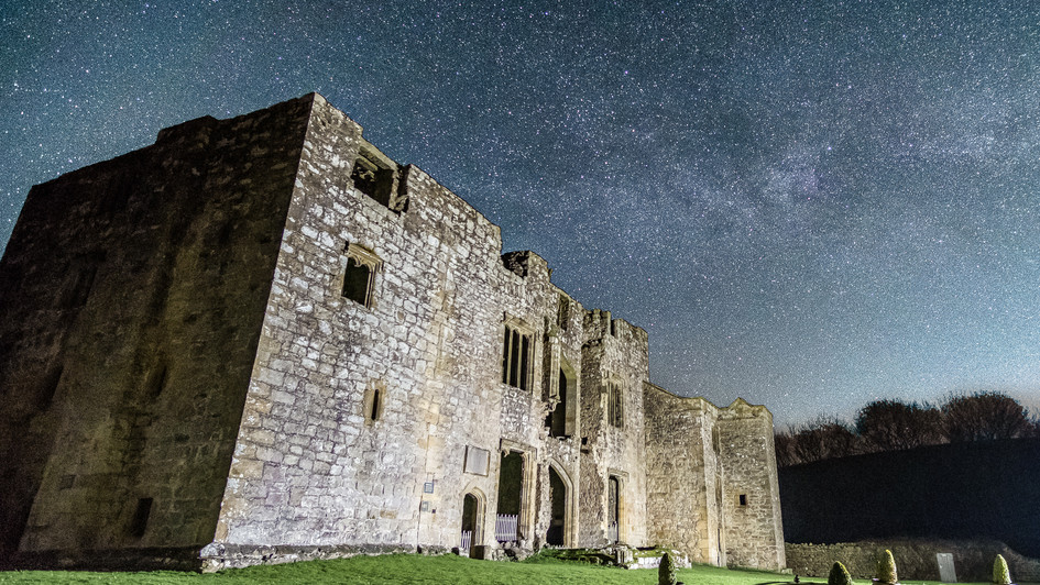 Stars above Barden Tower