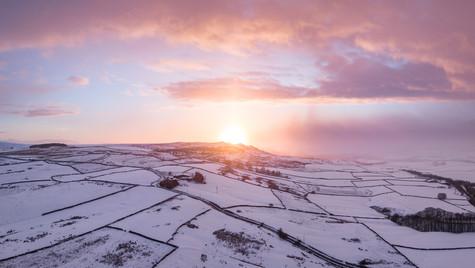 Snowy North Yorkshire