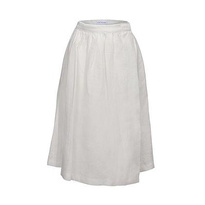 OLIVIA wrap skirt • chalk