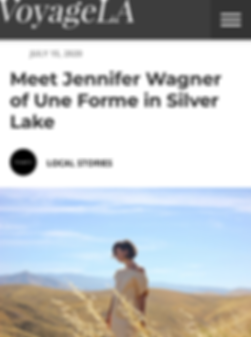 Meet Jennifer Wagner of Une Forme in Sil