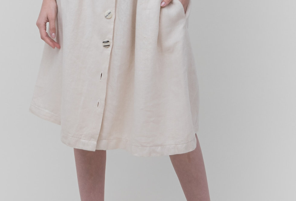 ISLA skirt • bone