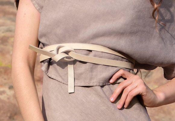 wrap belt • bone