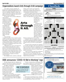 Pikes Peak Bulletin: BBB Press Release