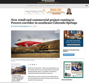 The Gazette: WestGate Press Release