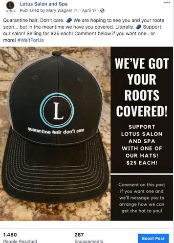 Quarantine Hats