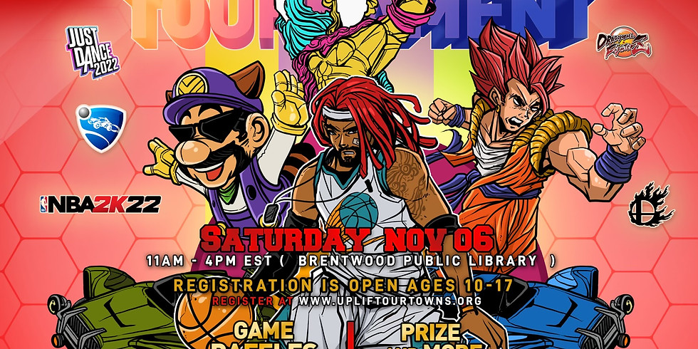 Uplift Our Towns 7th Brentwood Youth Video Game Tournament