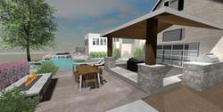 3D Outdoor Living Design