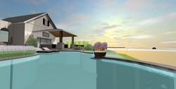 3D Pool Design View
