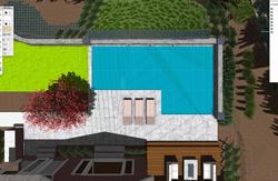 3D Backyard Pool Design