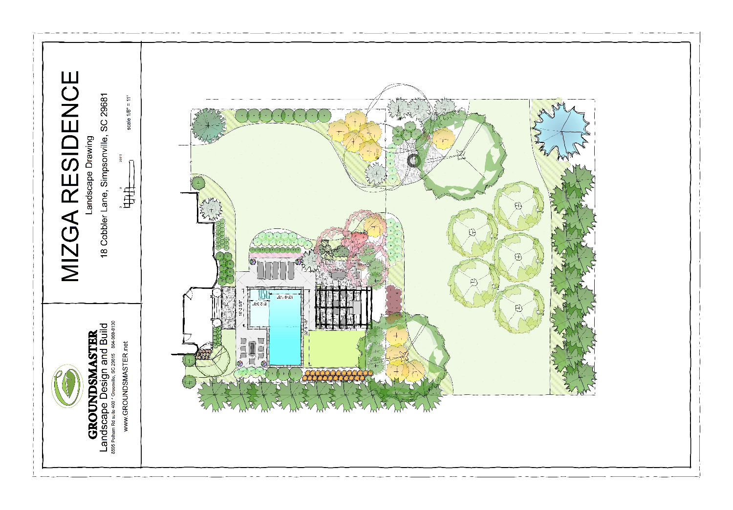 Pool and Landscape Plans