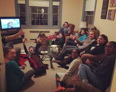 #superbowl #party #collegeministry #collegestudents #andmore #nopatsfanshere #allthesnacks #yestheyretwins