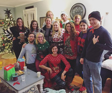 Our #uglysweater participants from last nights annual #newlife #christmasparty #collegeministry
