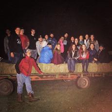 NewLife hayride from Saturday night! #latergram #hayride #fall #festivities #collegeministry
