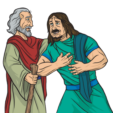 Saul talking with Samuel.png