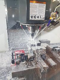 Fresing med CNC styrt 4 akset maskineringssenter