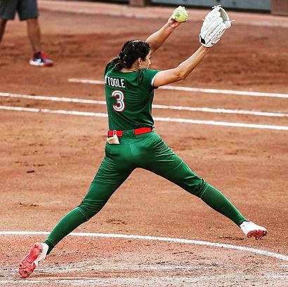 Danielle O'Toole Mexico Softball
