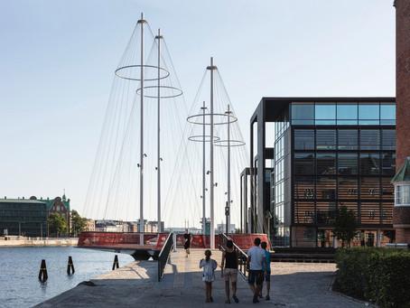 Conheça os projetos de Canais Urbanos mais interessantes do mundo: Ponte Cirkelbroen